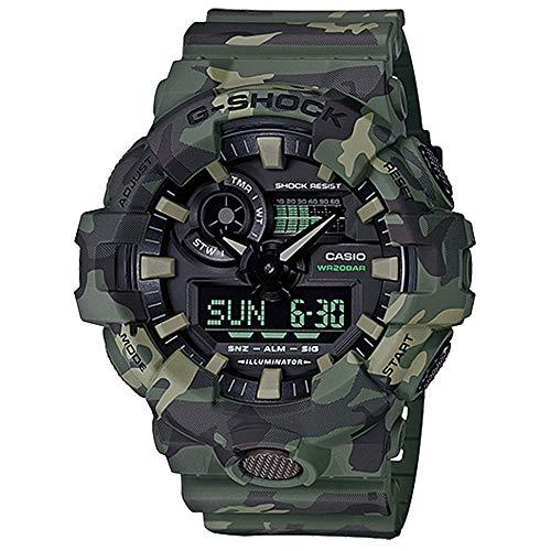 Casio G-Shock  Men's GA700CM-3A Green/Camo One...