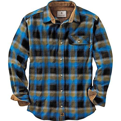 Legendary Whitetails Mens Buck Camp Flannel Shirt,...