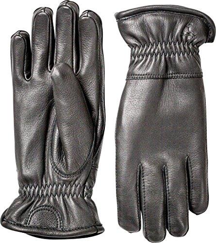 Hestra Mens Leather Gloves: Deerskin Winter Gloves...