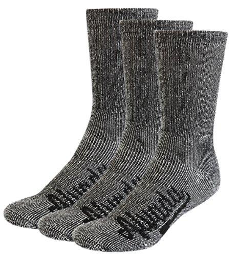 Alvada 80% Merino Wool Hiking Socks Thermal Warm...