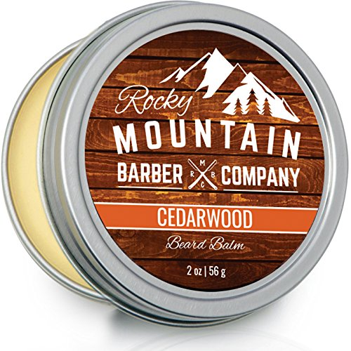 Beard Balm - Rocky Mountain Barber - 100% Natural...