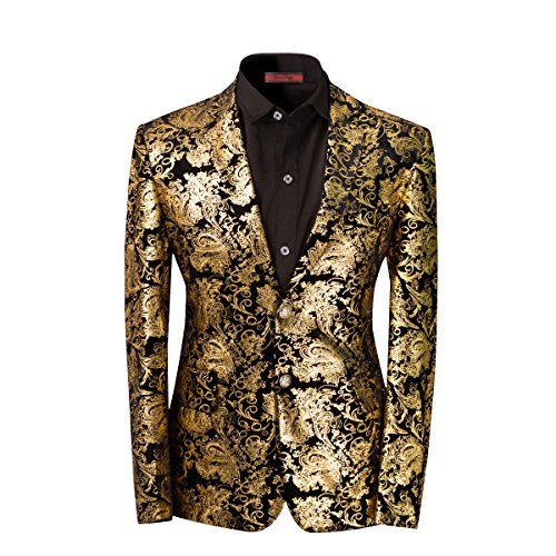 Men's luxury Casual Dress Suit Slim Fit Stylish...