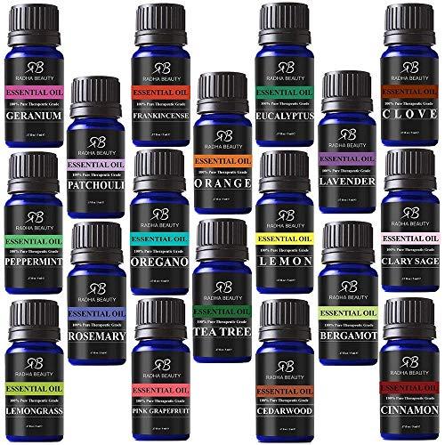 Radha Beauty Aromatherapy 18 Essential Oils...