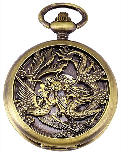 Carrie Hughes Men's Dragon Phoenix Engraving...