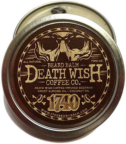 1740 Beard Balm- Coffee Infused 2oz