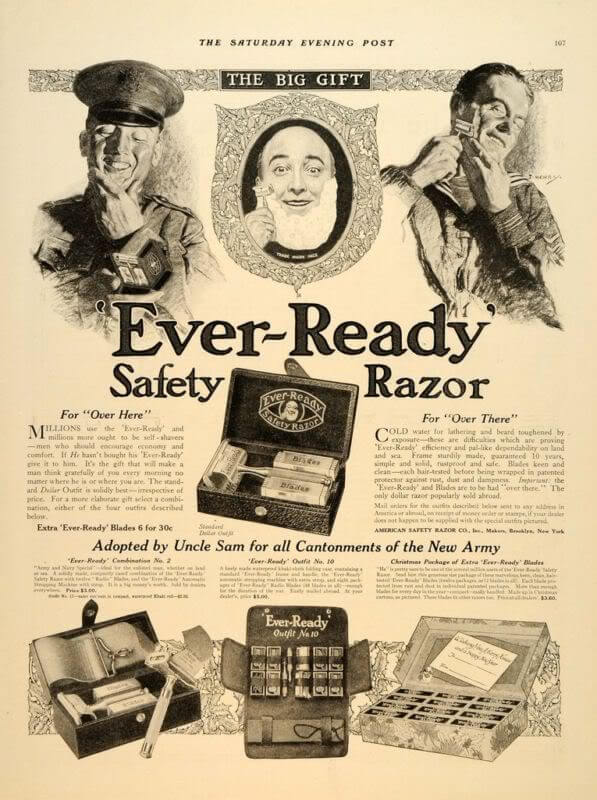 Old gillette ad
