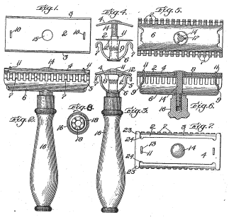 Original Patent Double Edge Safety Razor
