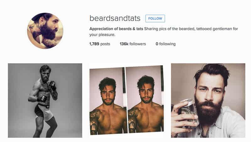 beards and tats instagram
