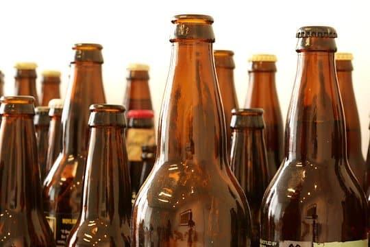 beer bottles - beard oil recipe