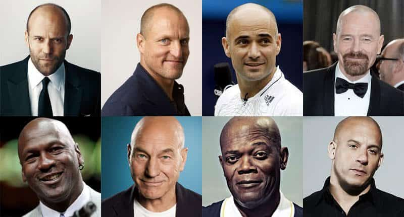 Bald Famous People