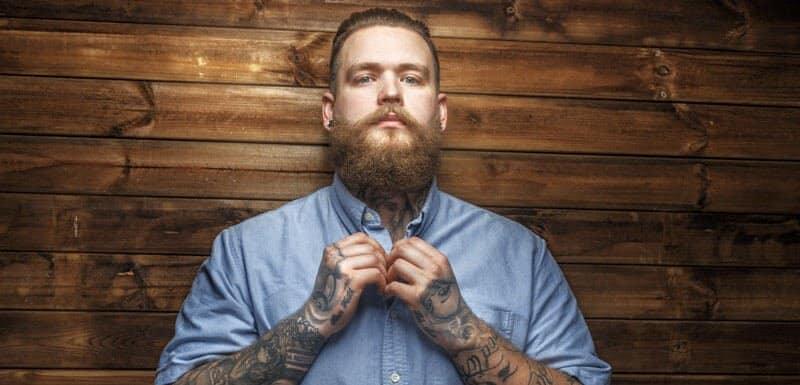 morning beard routine