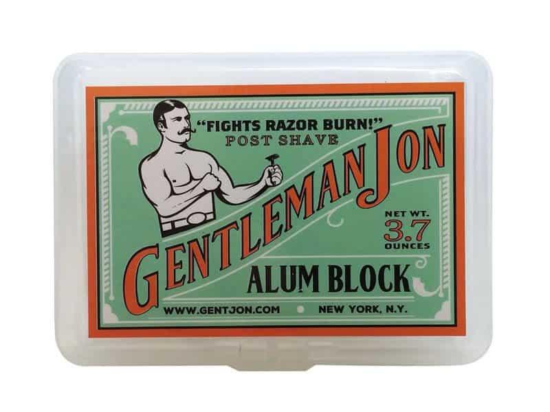 alum block cure shaving cuts