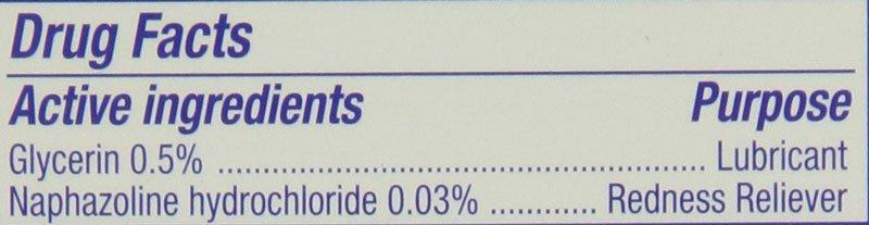 eye drops active ingredient