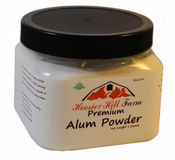 alum power cures smelly feet