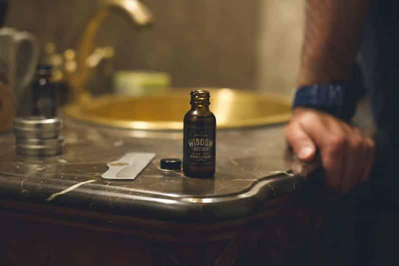 wisdom beard oil product shot - best beard oil 2015