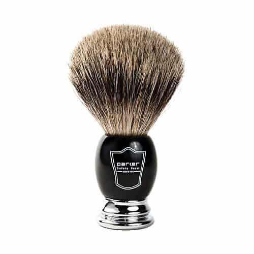 badger brush for shaving cream - tools of men