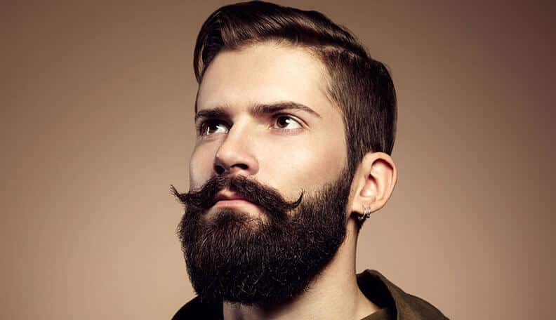 beard comb or brush - tools of men