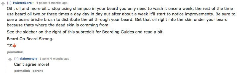 beard oil testimonial - tools of men