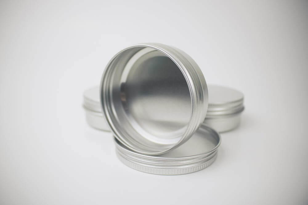 tins for making beard balm