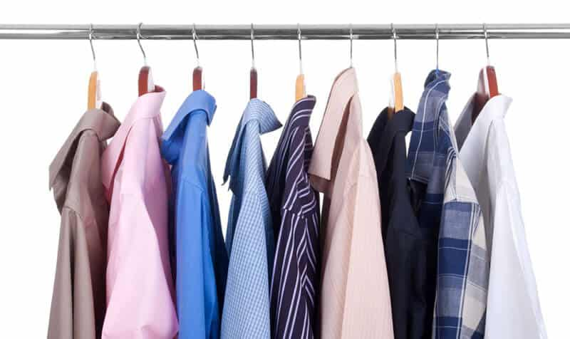 different types of mens dress shirt materials