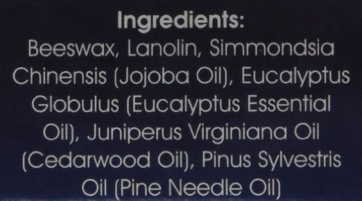 ingredients in beard wax