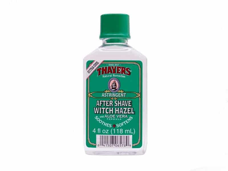 thayers aftershave with aloe and witch hazel