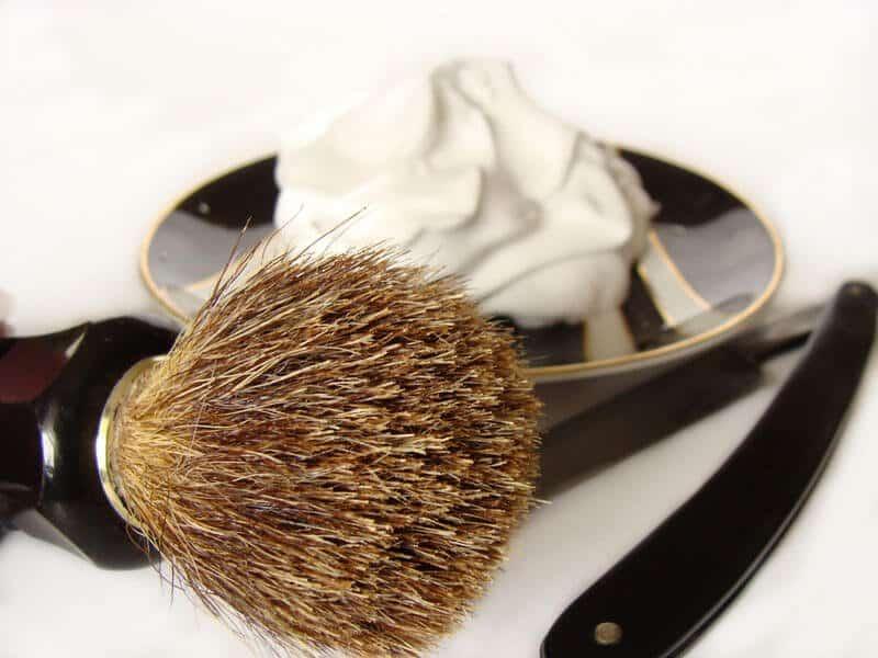 traditional shaving cream