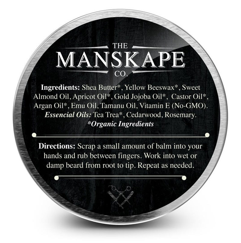 ingredients in beard balm