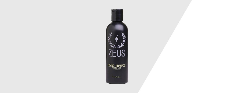 zeus beard shampoo - paraben free
