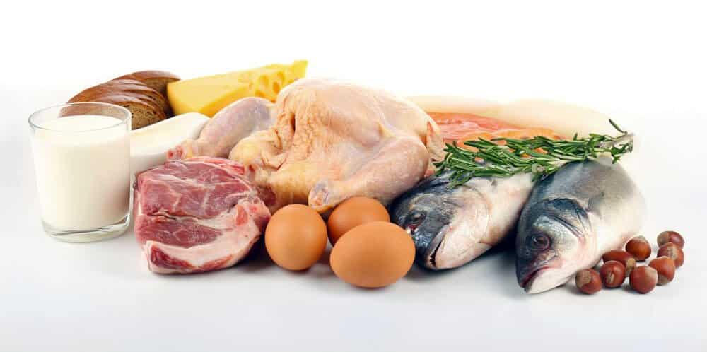 high protein foods for a healthy beard