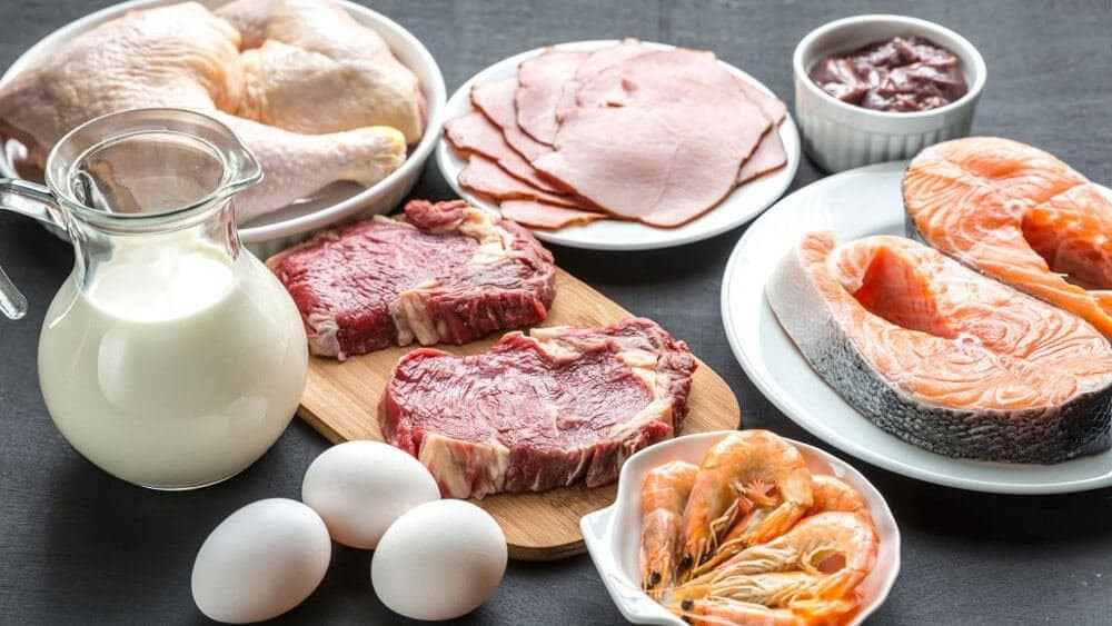 protein rich foods for beard growth