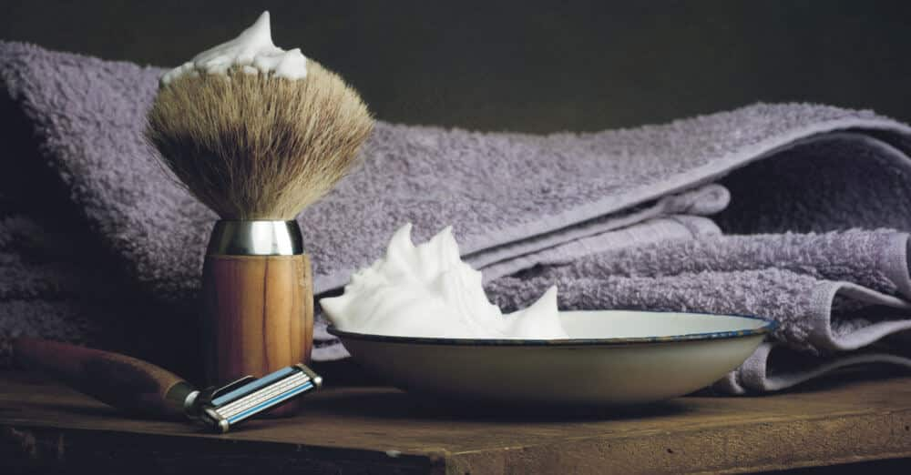 core advantages of using a shave brush