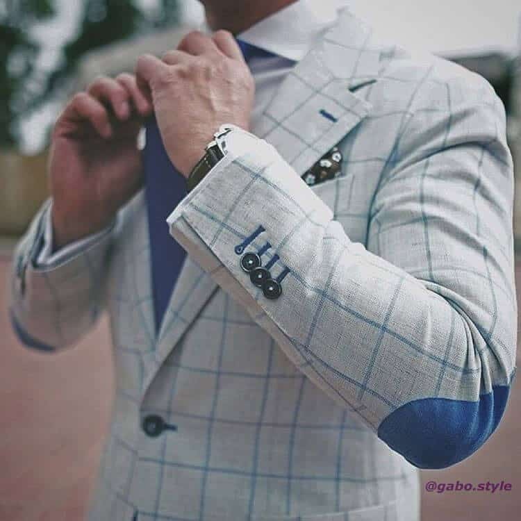 elbow patches sports jacket