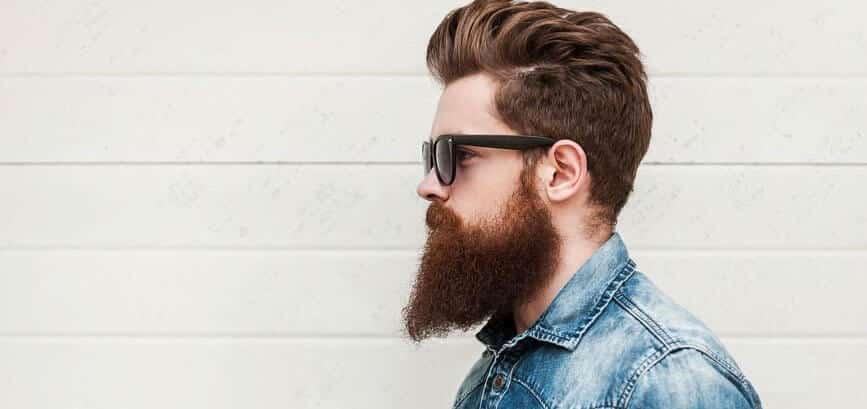 beardsman with proper beard maintenance