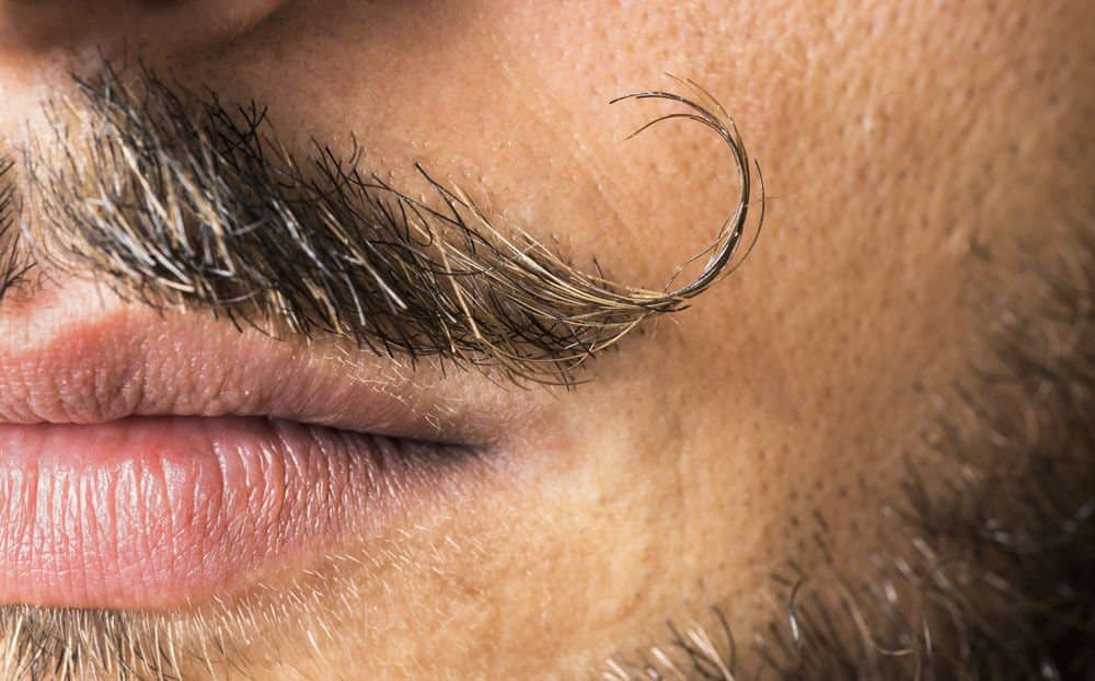 how to apply applying mustache wax