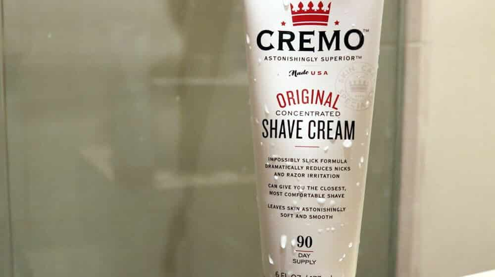 creamo shave cream for your head
