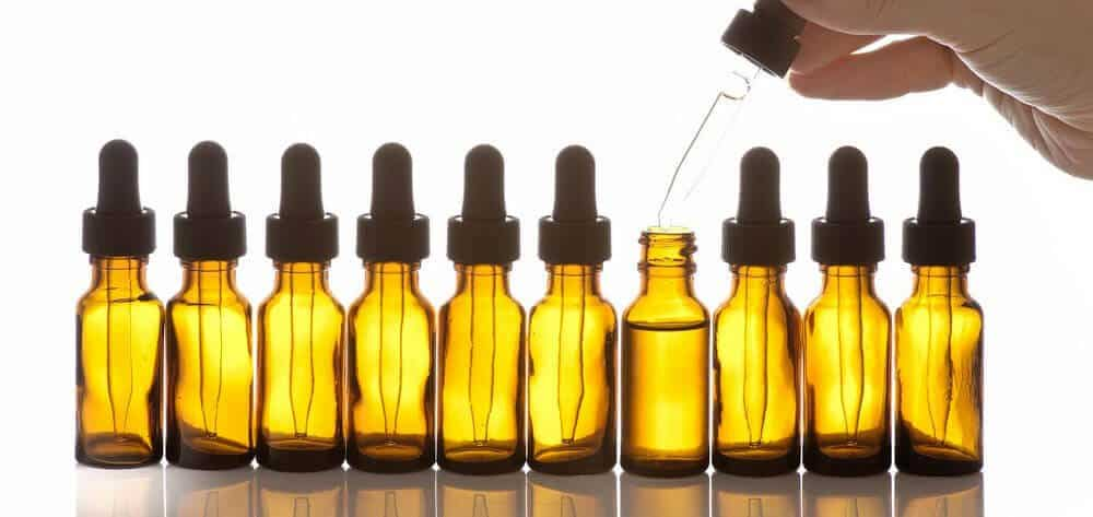 making your beard oil steps