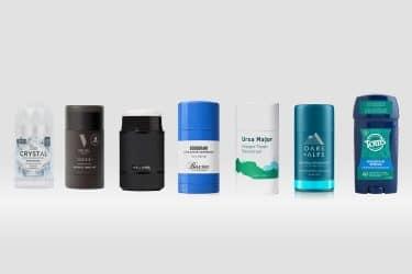 Best Natural & Aluminum-Fre Deodorants For Men