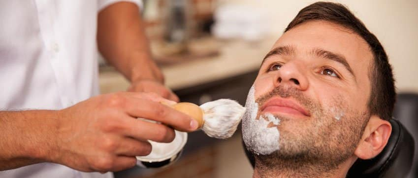shaving-with-a-shave-brush