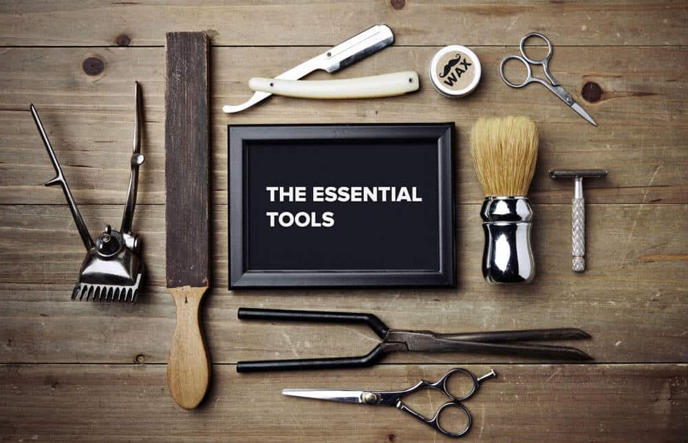 the essential tools for shaving