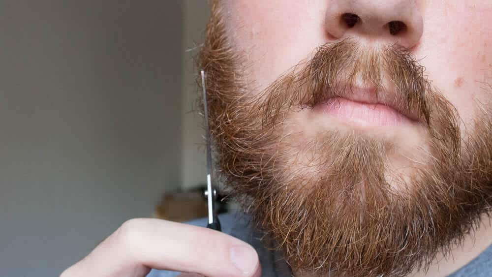 don't forget to trim the sides of your beard