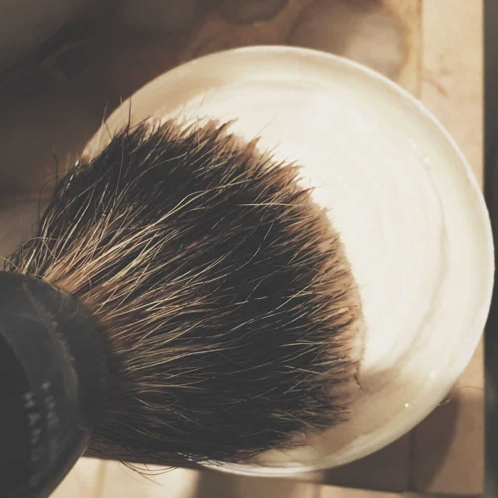 how to create a lather with shaving soap