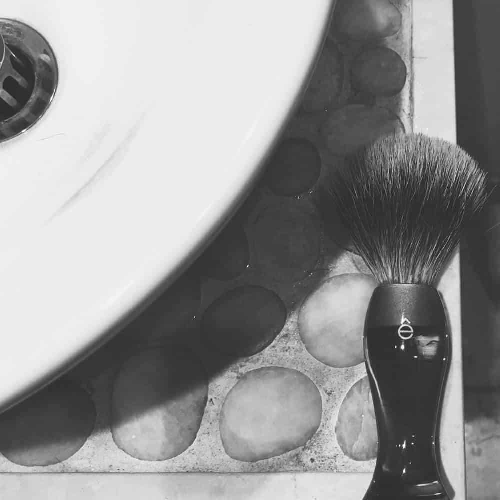 badger brush for shave soap
