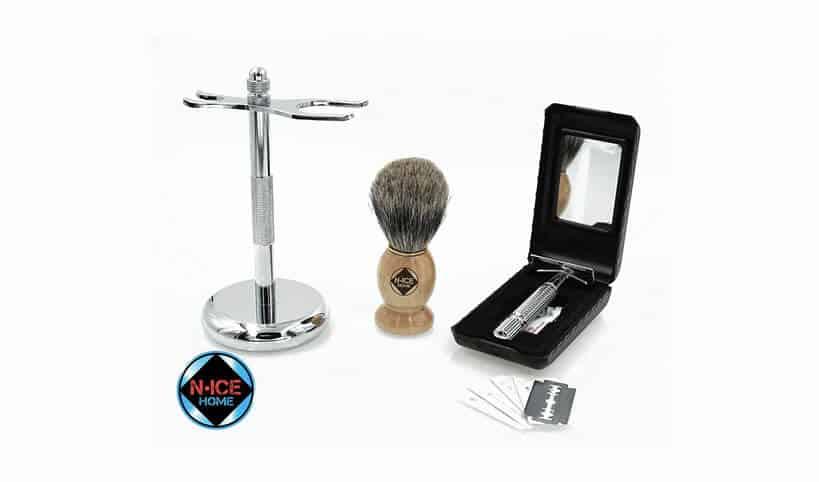 double edge safety razor starter kit
