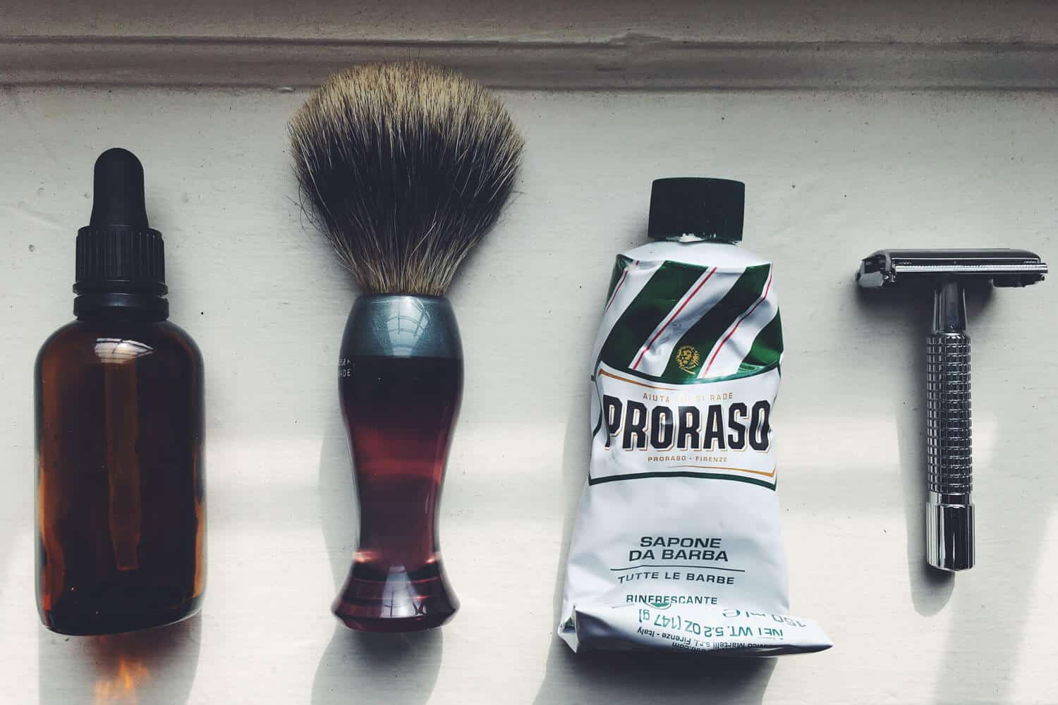 how to get a close shave