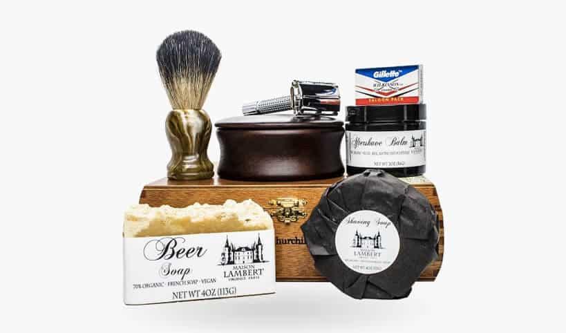 maison lambert shaving kit