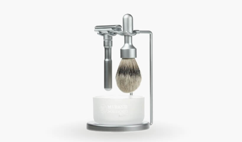 merkur futur shaving kit