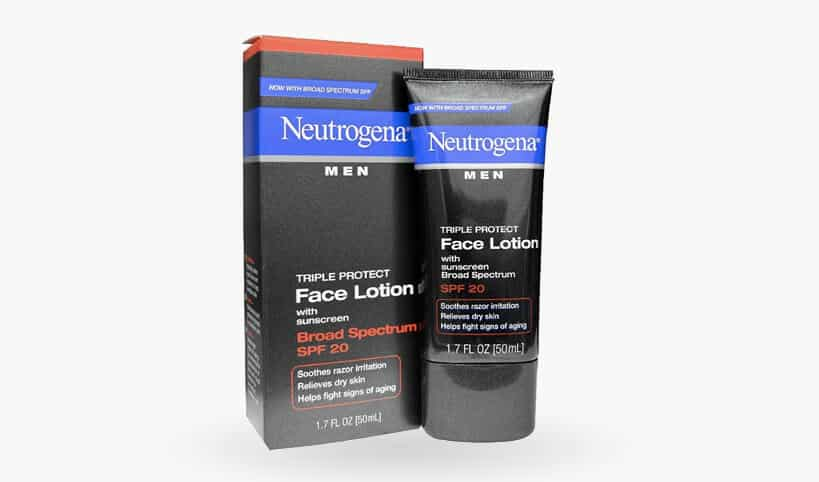 Neutrogena Men Triple Protect Face Lotion with SPF 20