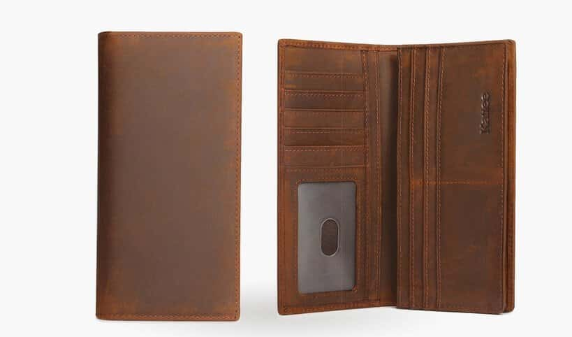 checkbook wallet for men