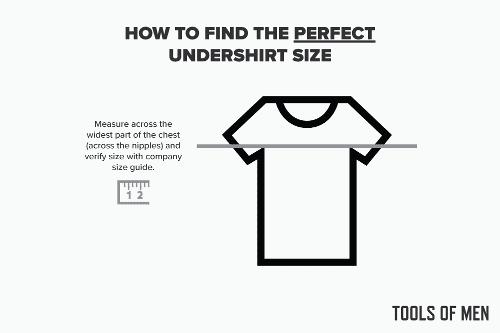 how to find the perfect undershirt size